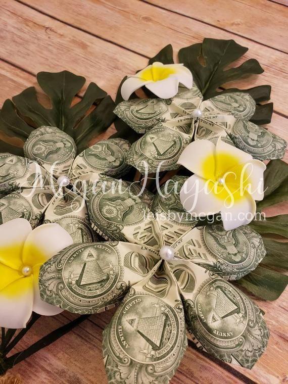 Money Flowers Money Bouquet Money Plumeria Monstera Graduation Etsy In 2020 Money Bouquet Money Flowers Valentines Flowers