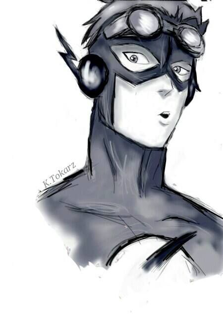 This artist captured him perfectly - Wally West