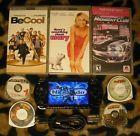Psp 1001 Bundle with CFW 980 Games Umds & Movies Midnight Club Joe Dirt Fifa