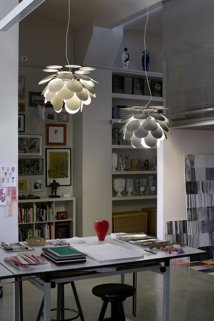 New Discocó 68 cms pendant lamp by Christophe Mathieu