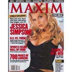 Maxim Magazine - Jessica Simpson