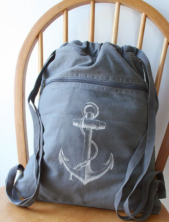 you can tell convention is near...almost every other item on wanelo has an anchor on it ;)  anchor backpack $18