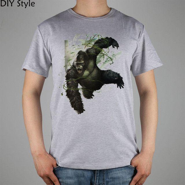 King Kong T-shirt Cotton Men T shirt New