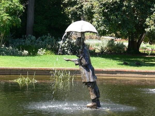В ботаническом саду St Kilda в Австралии