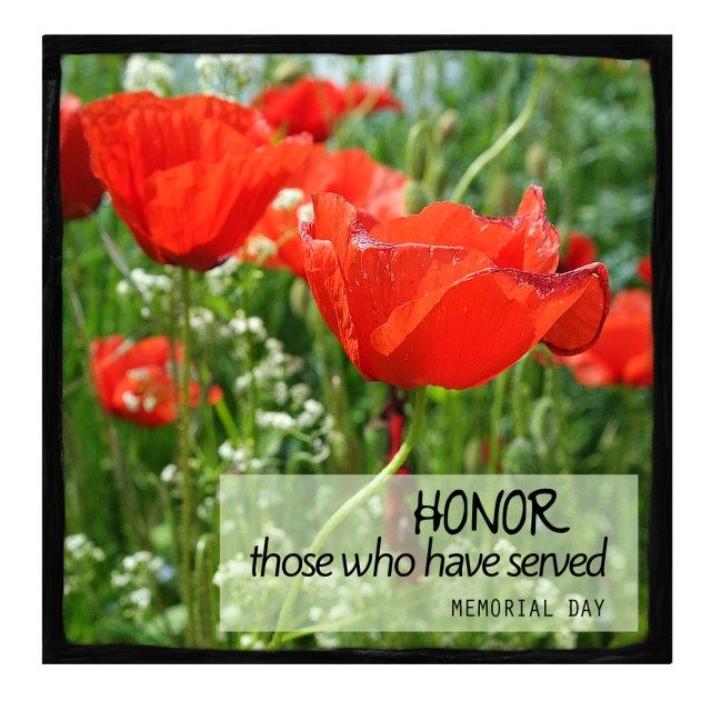 Honor Those Who Served on Memorial Day - A Warm HelloA Warm Hello