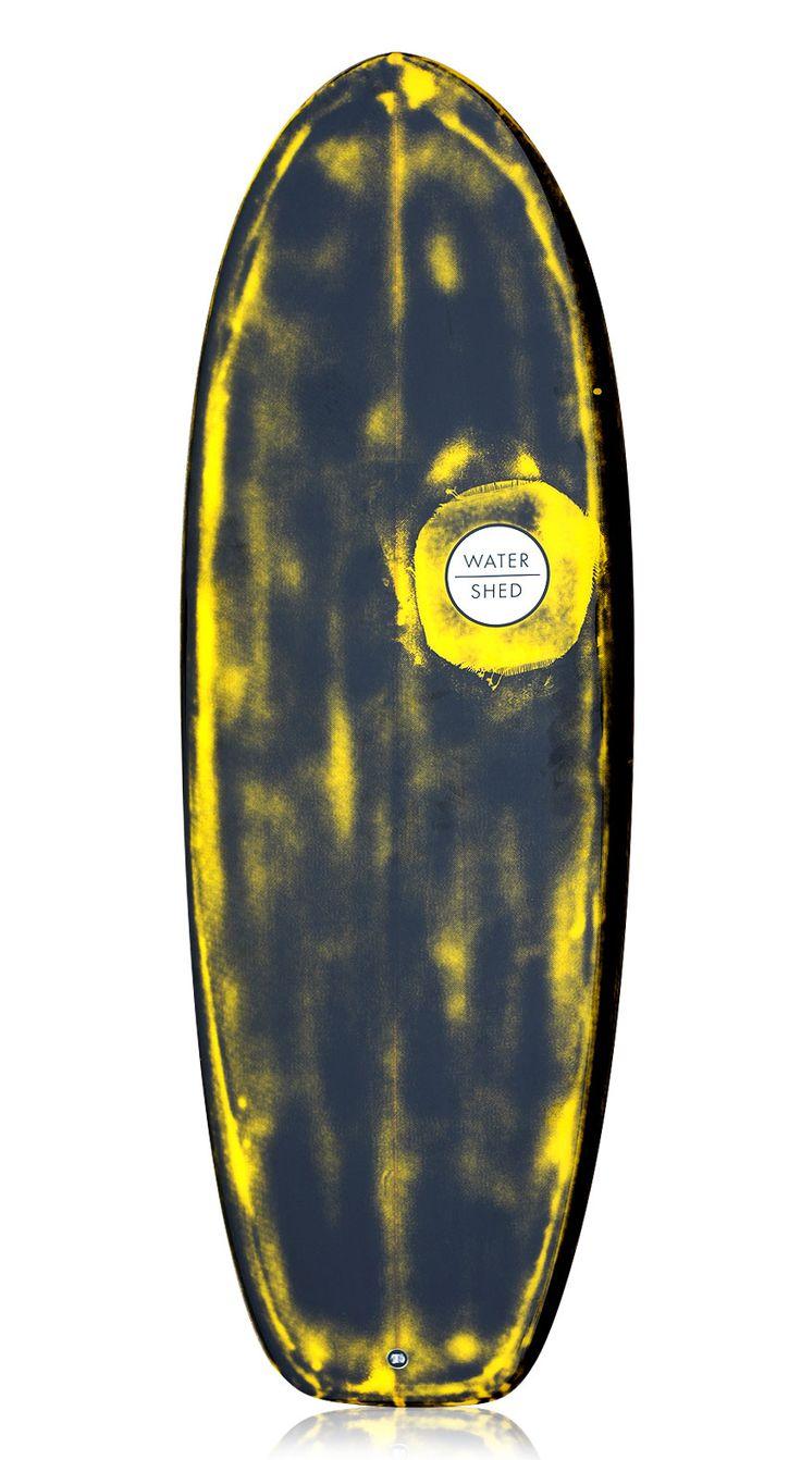 Black Surfboard