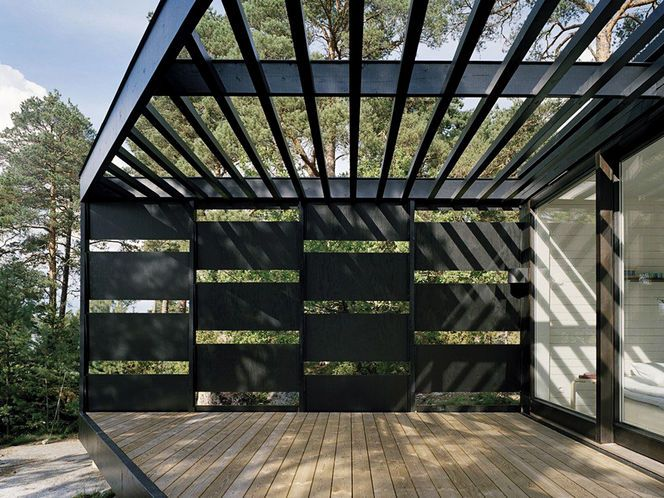 Creating shade with slats - popular structure in Arizona #OutdoorLiving