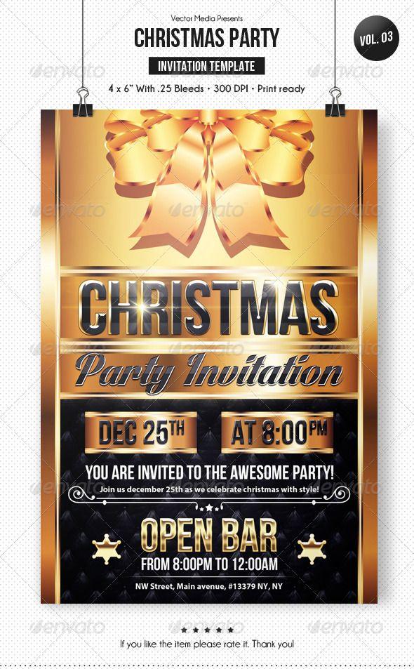 Christmas Party - Invitation [Vol.3]