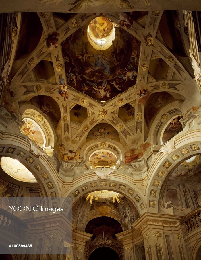 Italian baroque architecture piedmont sanctuary of the for Italian baroque architecture