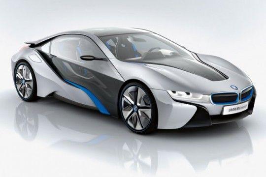 BMW i8 roadster électrique futuriste