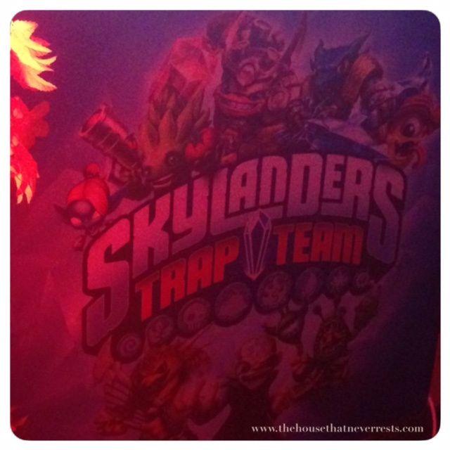 Skylanders trap team http://thehousethatneverrests.com/2014/10/skylanders-trap-team.html