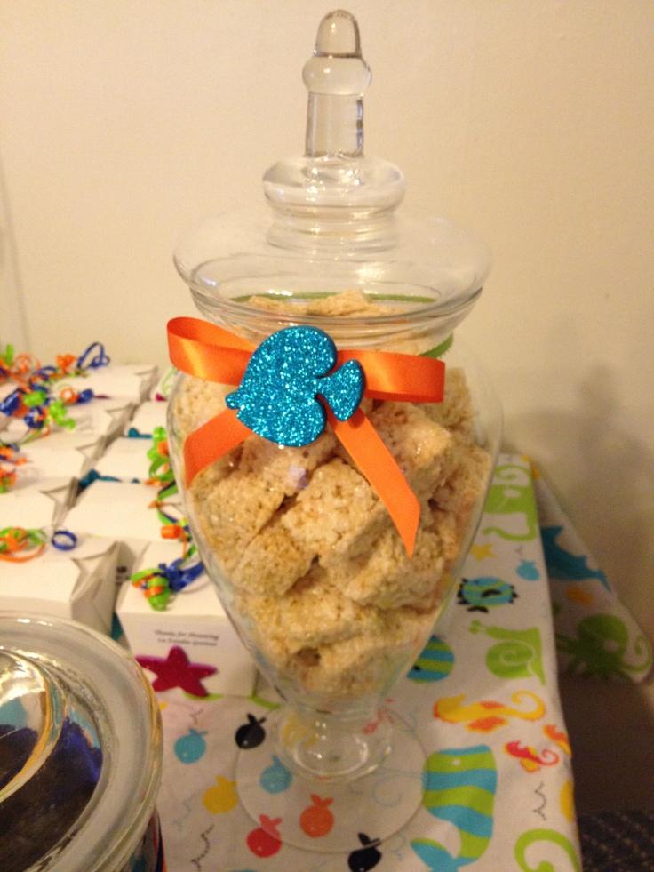 baby shower dessert bar baby ocean sea life inspired