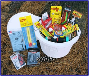 30 best fathers day images on pinterest fishing gift baskets fishy gifts walleye fishing gift basket loaded negle Images