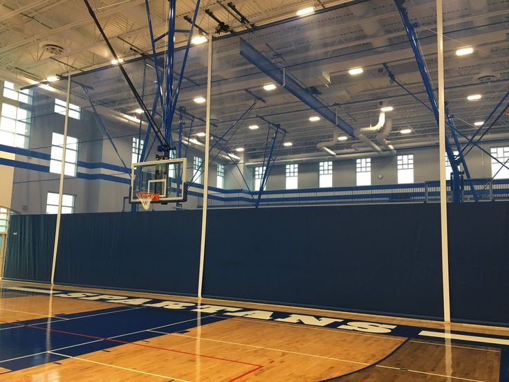 Gym Divider Curtains Perfect Solution To Section Off Your Space