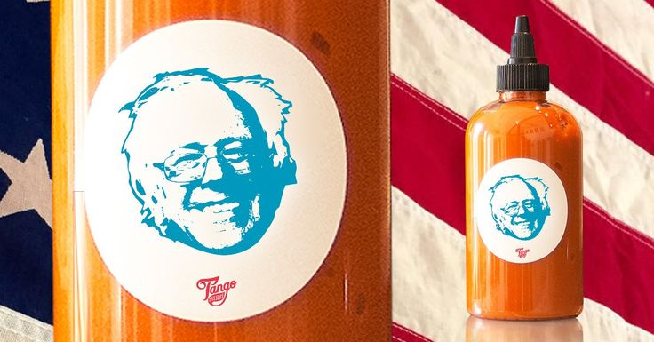 Tango Chile Sauce donates 10 percent of its proceeds to the Bernie Sanders campaign.