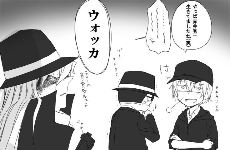 名探偵コナン detective conan black organization