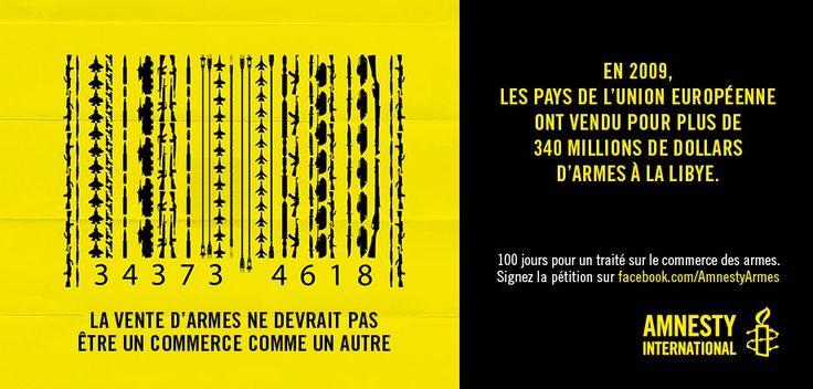 Amnesty – Commerce des armes | Pub en stock