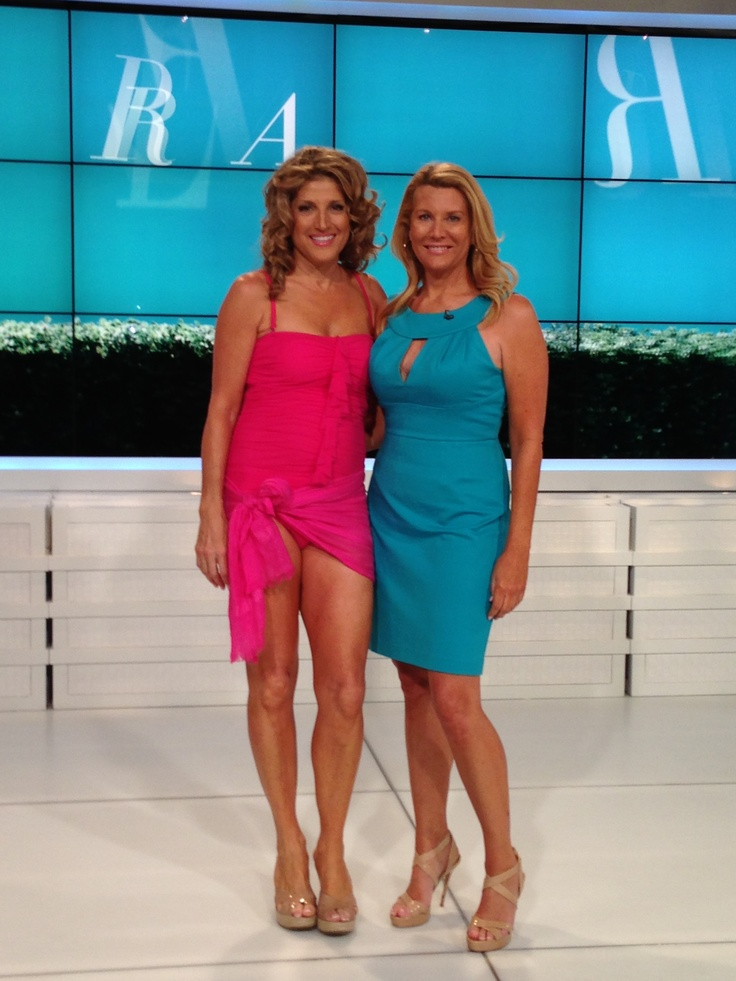Kim Banchs And Renne Magrane At Hsn Bright Colors And A
