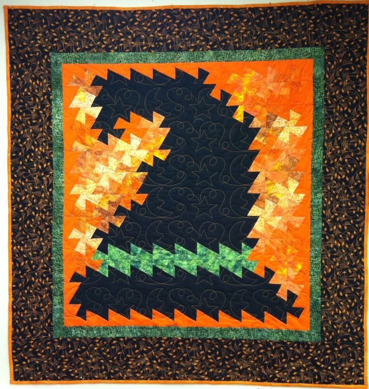 New Twister Patterns | Halloween Twister Quilt Kits | Heirloom CreationsHeirloom Creations