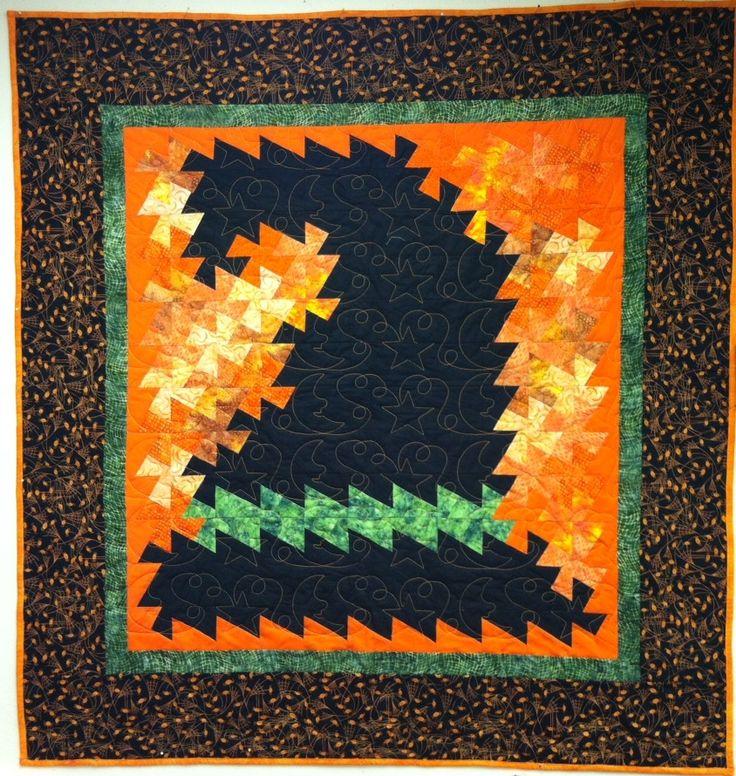 New Twister Patterns | Halloween Twister Quilt Kits | Heirloom CreationsHeirloom Creations