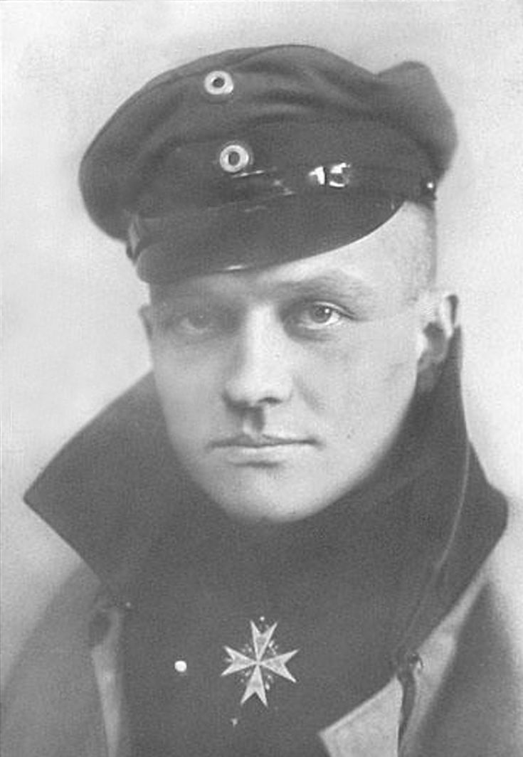 a biography of baron manfred von richtofen the red baron If anyone knows this would be very helpful i know that the red part comes from the fact that he flew a red aircraft and that he shot down 80 allied planes cheers.