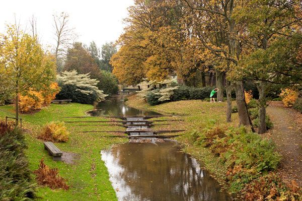 Westergasfabriek Park, Gustafson Porter, Amsterdam Netherlands.