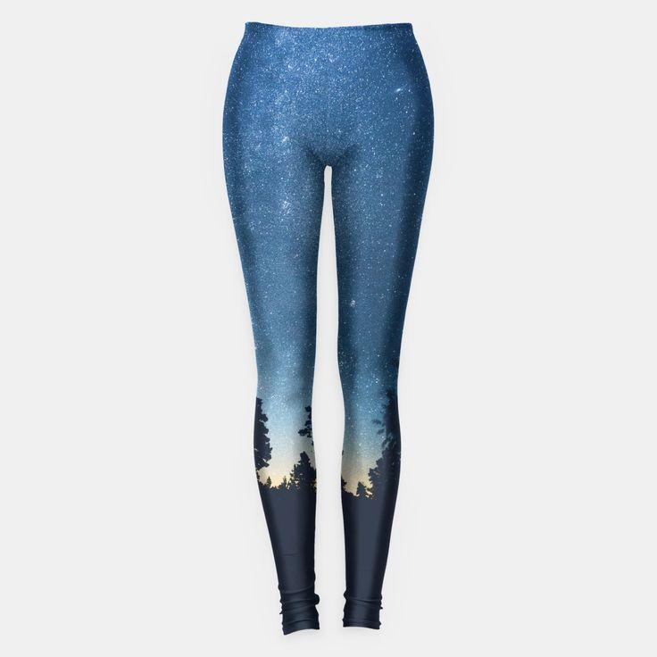 Follow the stars Leggings, by HappyMelvin at Live Heroes. #apparel #streetwear #urban #stars #leggings
