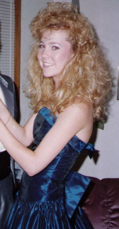 80s and 90s hair