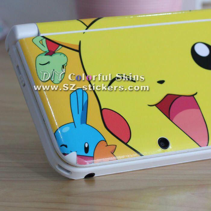Pikachu and friends nintendo 3ds xl pok mon pinterest for 3ds xl pikachu achat