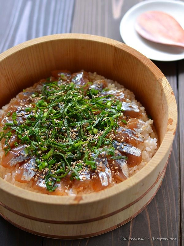 アジの手ごね寿司(三枚おろし) by 西山京子/ちょりママ | レシピサイト「Nadia | ナディア」プロの料理を無料で検索