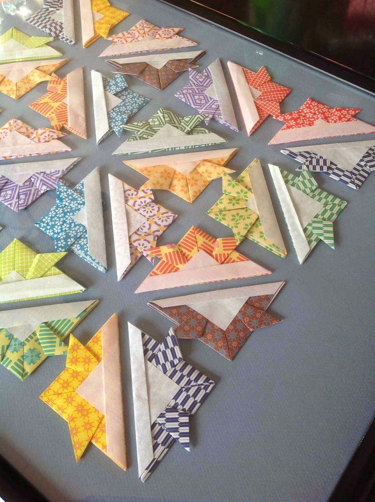 Create Art With Me!: Make a quilt in an evening--A PAPER ORIGAMI quilt ...