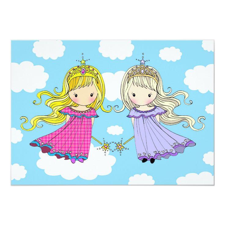 Открытки с днем рождения для девушек близняшек