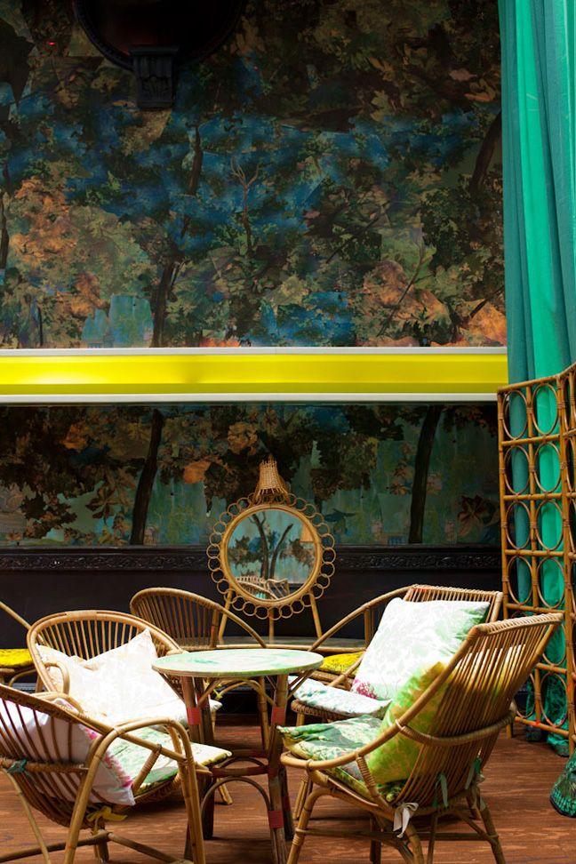 Outdoor room?: Restaurant Bar, Living Rooms, Interiors Sketch, Outdoor Living, Outdoor Rooms, Sketch London, London Restaurant, Glade Rooms, Haute Design