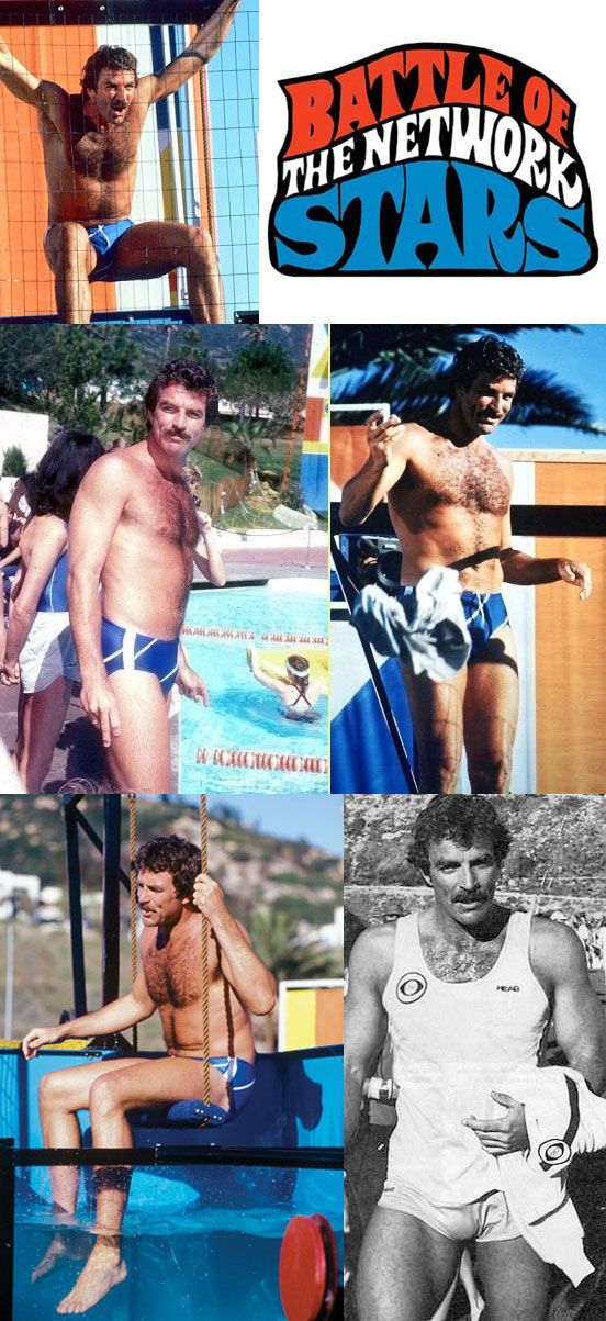 Tom Selleck appeared on two episodes of ABC TV's Battle of the Network Stars. His first appearance was in December 1980, and in May 1981 he was the CBS team's captain.