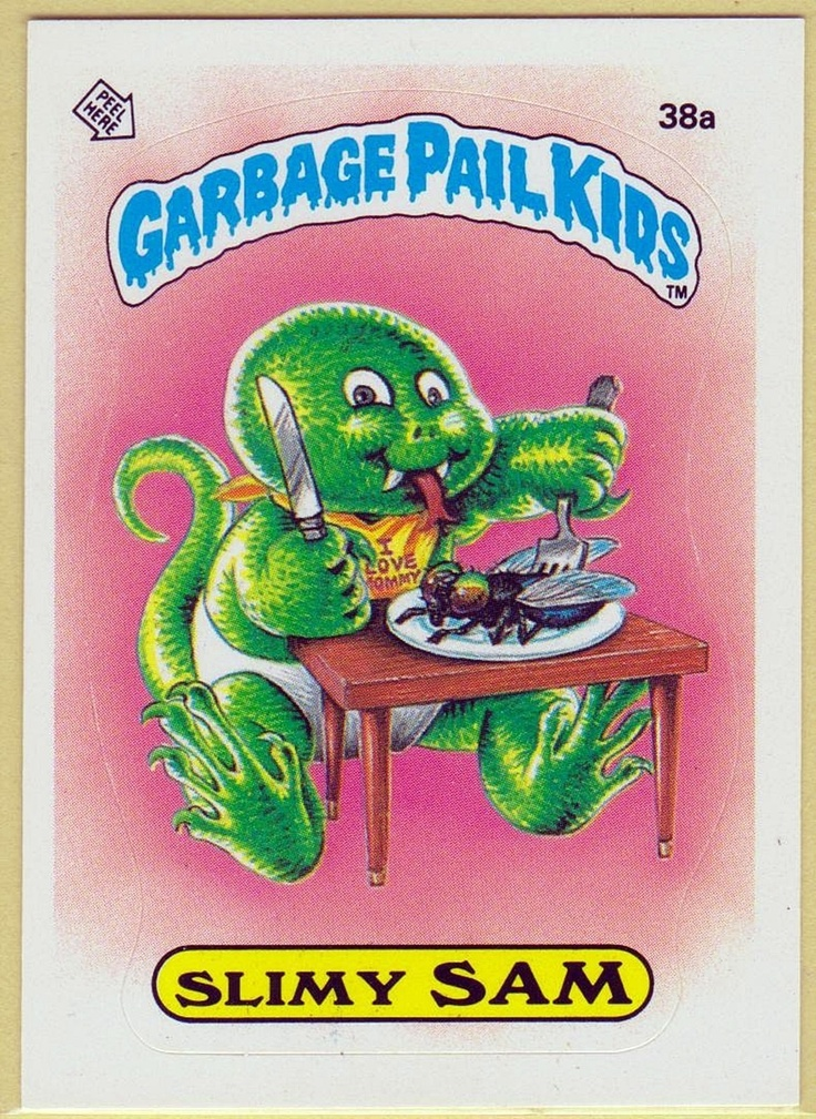 607 Best Images About Garbage Pail Kids On Pinterest