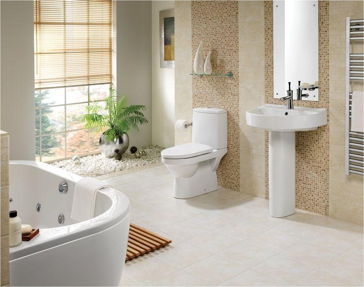 72 best Badezimmer Ideen u2013 Fliesen, Leuchten, Möbel und Dekoration - badezimmer ideen fliesen