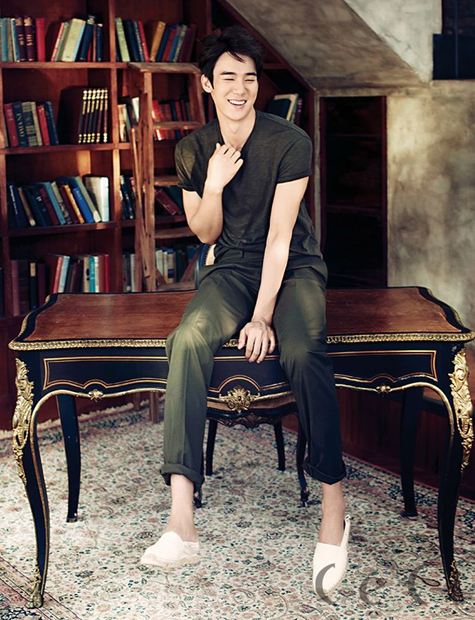 More Of Park Shin Hye & Yoo Yeon Seok For CéCi's August 2014 Issue | Couch Kimchi