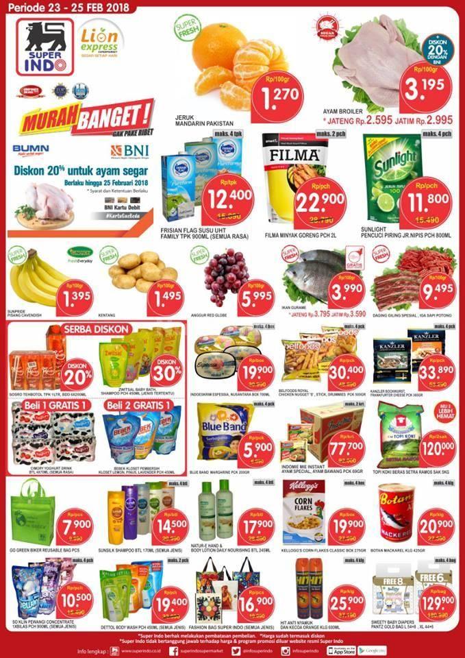 Sudah Cek Promo Super Indo Supermarket Promo Superindo Minggu Ini