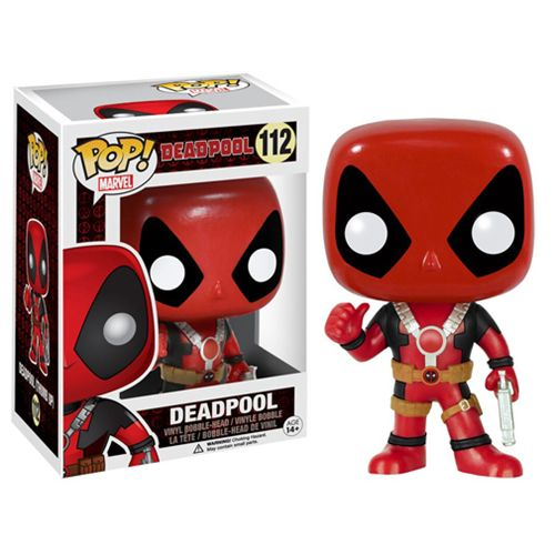 Deadpool Thumbs Up Pop! Vinyl Figure - Funko - Deadpool - Pop! Vinyl Figures at Entertainment Earth