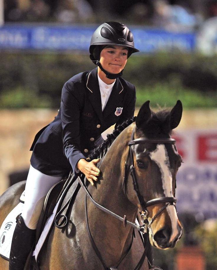 #Reed_Kessler_equestrian winning the first round of the Olympic selection trials.
