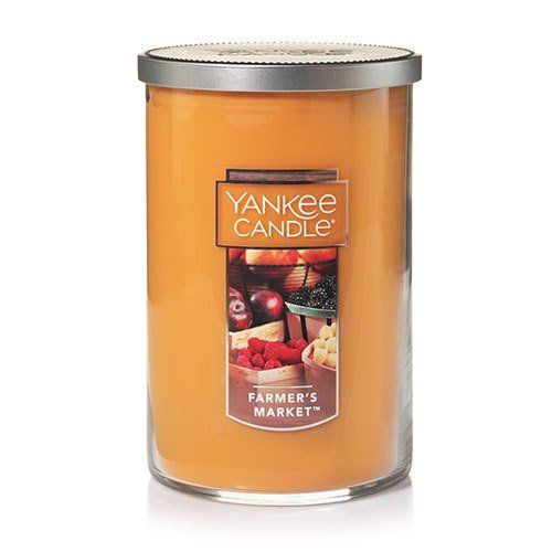 Large 2-Wick Tumbler Yankee Candle Farmer's Market