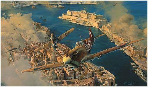 WW2 Aviation art