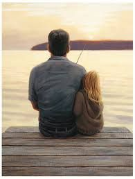 Father/daughter painting idea