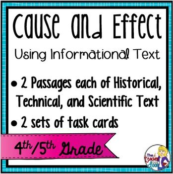 Cause and effect essay handout