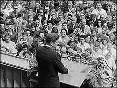 26 June, 1963 ♦ Kennedy: 'Ich bin ein Berliner'