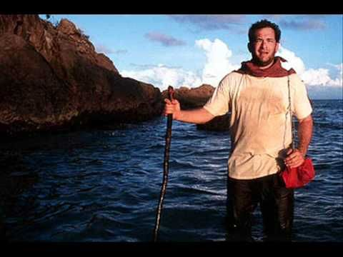 Cast Away Main Theme.  The gorgeous music of Alan Silvestri.  Who can watch the scene between Tom Hanks and Helen Hunt in the rain with this music playing and not be touched by the remarkable acting and the emotional music?