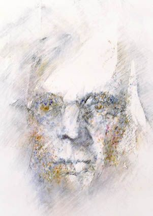 W.B. Yeats by Louis le Brocquy