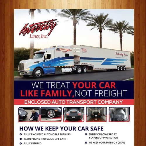 Shipping A Car/page/2 >> Full Page Ad For Luxury Automotive Magazine Intercity Lines