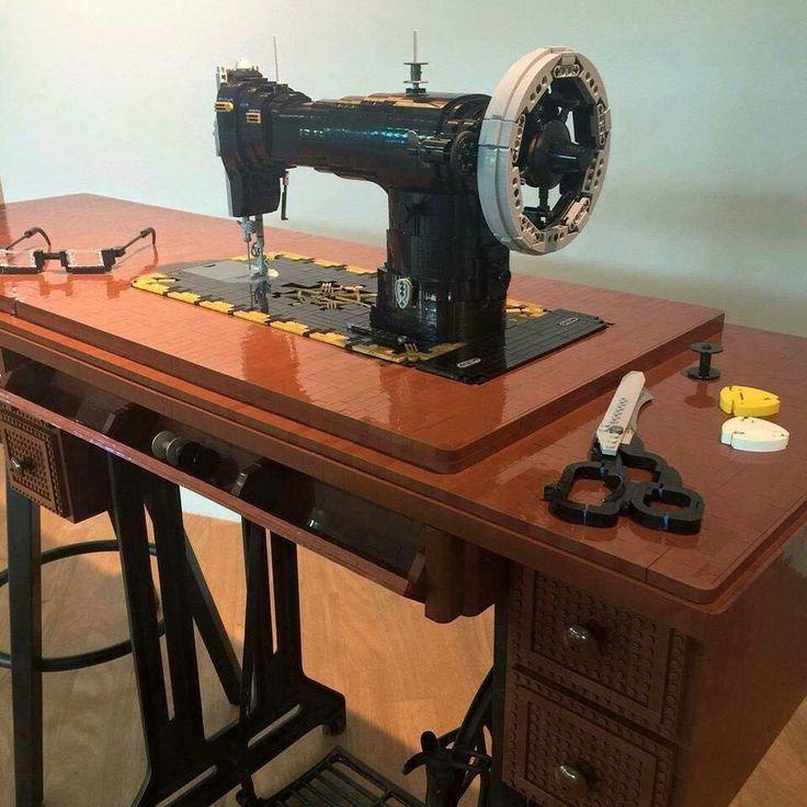 lego sewing machine