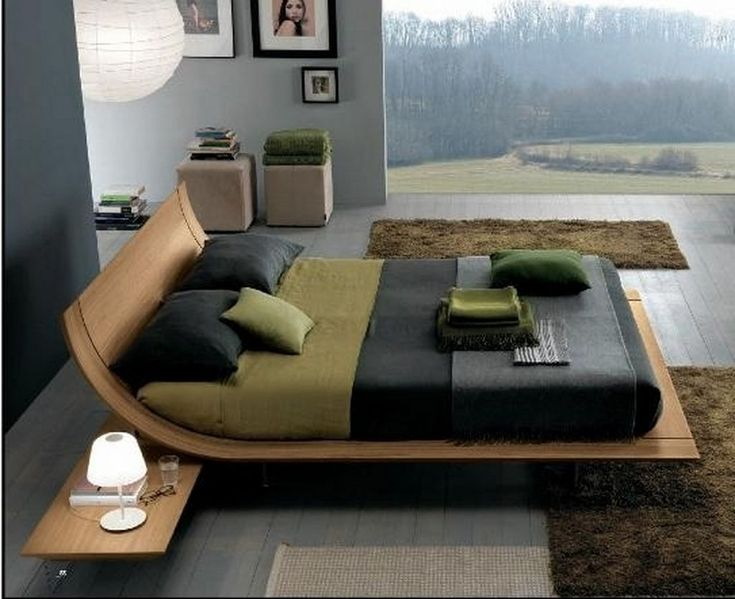 Amazing Aqua Designer Platform Bed Represents A Truly Individual And Unequaled  Modern Design With Emphasis On Curvature And Continuity. Made In Italy By  Presotto,. Amazing Design